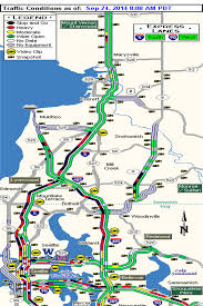 wsdot seattle traffic map morning commute from everett to seattle tops 2 hours