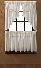 Prairie Curtains Tobacco Cloth Antiquewhite Curtains And Window Collection By Vhc
