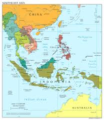 Europe Map Capitals by Large Scale Political Map Of Southeast Asia With Capitals And