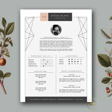 girly feminine resume template on word modern resume template cover letter template for word and pages