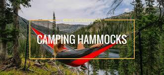 top 10 best camping hammocks in 2018