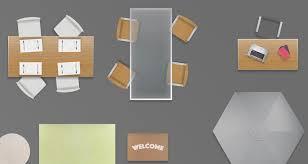 Floor Plan Furniture 2d Furniture Floorplan Top View Psd 3d Model Render Realistic 3d Model