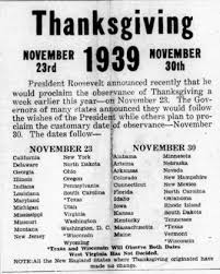 remembering past squabbles thanksgiving dates last best news