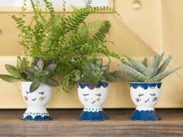 diy planters 15 stylish diy planters you can make in one hour or less hgtv s