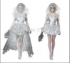 Ghost Bride Halloween Costume Popular Zombie Bride Costume Buy Cheap Zombie Bride