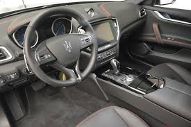 maserati car interior 2017 2017 maserati ghibli sq4 stock m1788 for sale near greenwich ct
