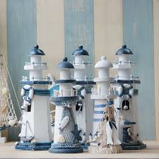 lighthouse home decor aliexpress com buy creative lighthouse wooden decorative arts and