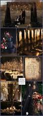 rustic goth wedding by candlelight u2013 halloween wedding ideas