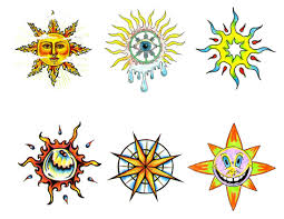 sun designs drawing