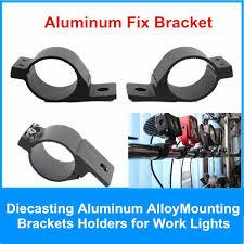work light mounting bracket led light bracket for offroad car bull bar work light l holder