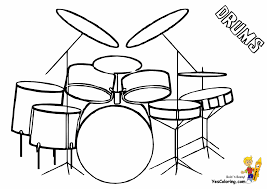 majestic musical drums coloring drums free percussion drum