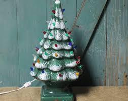 vintage ceramic tree etsy
