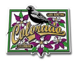 Maine State Flag State Bird U0026 Flower Magnets Classicmagnets Com
