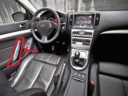 Infiniti G37 Convertible Interior Interior Door Handles Myg37