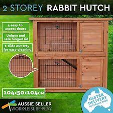 Rabbit And Guinea Pig Hutches Indoor Rabbit Ferret Guinea Pig Cage Hutch 100cm Pick Up Available