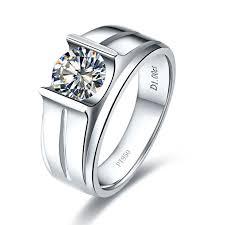wedding ring test amazing white gold 18k s moissanite ring test positive