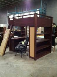 Metal Bunk Bed With Desk Underneath Double Bunk Bed With Desk Underneath Girls U0027 Bedroom Ideas