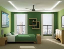 home design living room bedroom ideas with green and white
