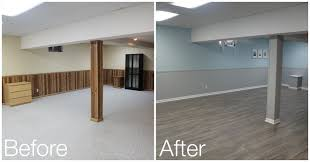 Painting A Basement Floor Ideas by Basement Reveal Tixeretne