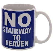 no stairway to heaven ceramic mug rock n roll coffee cups