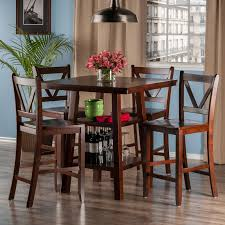 Dining Room Sets Orlando by Winsome Orlando Counter Height Dining Table Hayneedle
