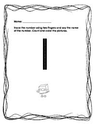 free tracing and counting numbers worksheets 1 10 by roxanne nina