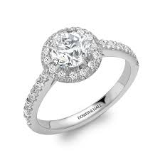 engagement rings london platinum halo cluster engagement ring 0 90ct engagement rings