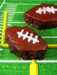 chocolate football cakes baking bites