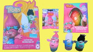 easter egg decorating kits trolls easter egg decorating kit trolls mini blind bag and