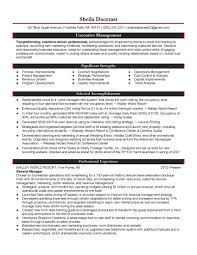Logistics Jobs Resume Samples by Resume Objective For Management Berathen Com