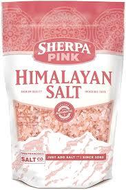 himalayan salt l 100 lbs amazon com sherpa pink gourmet himalayan salt 5 lbs fine grain
