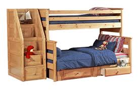 Bunk Bed With Twin Over Full by Laguna Carmel Twin Over Full Bunk Bed