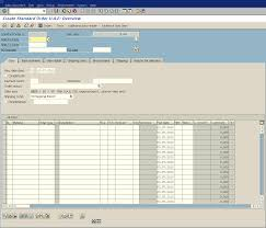 sales order table in sap create sales order delivery and billing document in sap