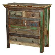 Rustic Bedroom Dressers - wood rustic bedroom dresser u0026 chest with 6 drawer