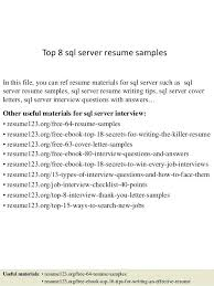 Examples Of Server Resumes It Resume Samples Resume Samples And Resume Help