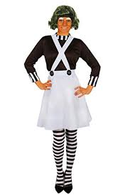 Oompa Loompa Costume I Love Fancy Dress Ilfd4044s Ladies Factory Worker Costumes Small