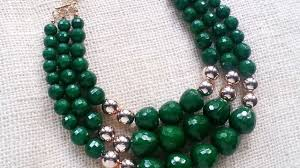 beads necklace tutorial images How to create a gorgeous beaded necklace diy crafts tutorial jpg