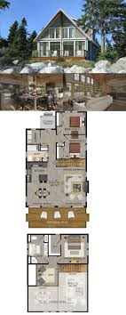 plans for cottages and small houses modern lake house floor plans cottages homes chalet cabin small