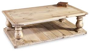 Country Coffee Table Bleached Wood Country Coffee Table Spaces Pinterest