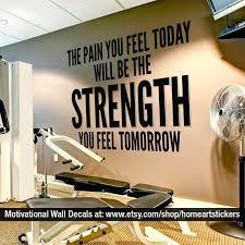 home gym wall decor home gym wall decor decals ideas plosweak site