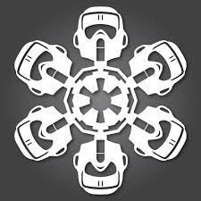 60 free paper snowflake templates u2014star wars style christmas