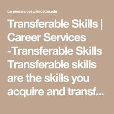 Resume Transferable Skills Examples by The 25 Best Interpersonal Skills Examples Ideas On Pinterest
