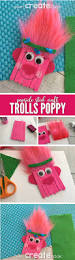 trolls poppy popsicle stick craft for kids popsicle stick crafts