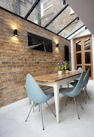 Exposed Brick Wall 46 Original Dining Room Decor Ideas With Exposed Brick Wall