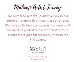 Jobs For Makeup Artists Nix Soriano Hmua Home Facebook