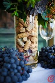 Simple Vase Centerpieces Corks In Vase This Would Be A Pretty Centerpiece For A Dinner