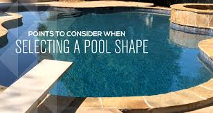 shapes of pools swimming pool shapes what s right for your family