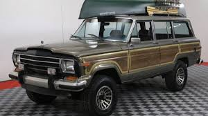 1987 jeep wagoneer interior 1987 jeep grand wagoneer for sale near denver colorado 80205