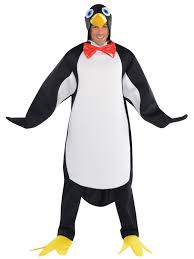 penguin costume halloween adults penguin costume mens ladies christmas animal fancy dress