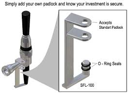 Stainless Steel Stout Faucet Beer Faucet Lock Stout Beer Faucet